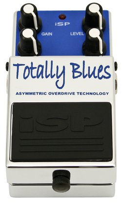 ISP Technologies Totally Blues Asymetric Overdrive Pedal
