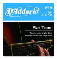 D'Addario EFT16 Flat Tops Phosphor Bronze Light Acoustic Guitar Strings