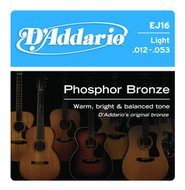 D'Addario EJ16 Light Phosphor Bronze Acoustic Guitar Strings