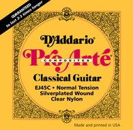 D'Addario Pro-Arte Composites EJ45C Hard Tension Classical Guitar Strings
