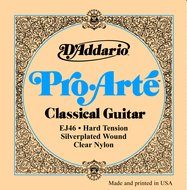 D'Addario Pro-Arte EJ46 Hard Tension Classical Guitar Strings .0285-.044