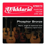 D'Addario EPBB170 Phosphor Bronze Long Scale Acoustic Bass Strings