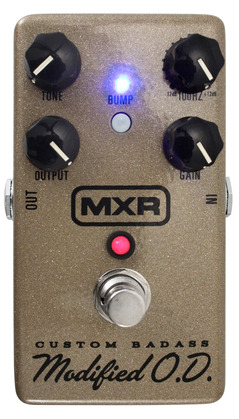 MXR M77SE Custom Badass Modified O.D Gold Sparkle
