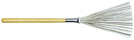 Regal Tip Drum Brushes Wood Handle, Pair