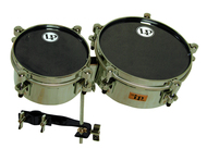 LP John Dolmayan Mini Timbales with Cowbell Mount