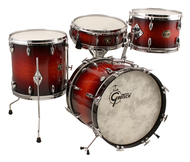 Pre-Owned Gretsch USA Custom 4pc Shell Pack In Savannah Sunset Duco