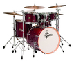 "Gretsch Catalina Maple 5pc  Kit In Cherry Gloss With 8"" Tom"