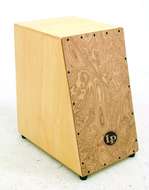 LP Angled Front Cajon With Mapa Burl Finish