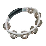 LP Cyclops Hand Held Tambourine White