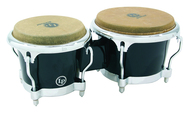 LP Fibre Glass Bongo Black With Comfort Curve II Rim Chrome Hardware