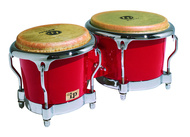LP Fibre Glass Bongo Red Comfort Curve 2 Rim Chrome
