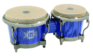 LP 45th Annversary Bongos, Comfort Curve® II Rims, Chrome Hardware