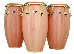 "LP 12 1/2"" Salsa Model Tumbadora, Natural Finish with Gold Tone Hardware"