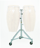 LP Double Conga Stand with Wheels