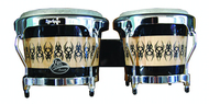 LP Aspire Wood Bongo Scarab Finish Chrome Hardware