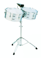LP Matador Chrome Plated Steel Timbales
