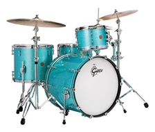 Gretsch New Classic 4pc Shell Pack Turquoise Sparkle
