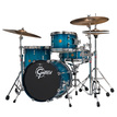 Gretsch New Classic 3pc Be Bop Shell Pack In Ocean Sparkle Blue