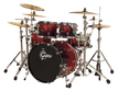 Gretsch Renown Maple 4pc Shell Pack - Ruby Sparkle Fade