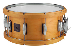 Gretsch 6.5X14 All Maple Wood / Metal Hoop Snare Drum In Natural Lacquer