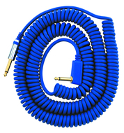 Vox 25 Foot Blue Coil Cable
