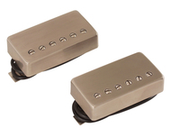 Bare Knuckle Abraxas Humbucker Pickup Set Brushed Nickel
