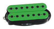 Bare Knuckle Aftermath 7-stringBridge Pickup Green