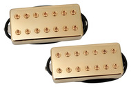 Bare Knuckle Aftermath 7-string Pickup Set Gold