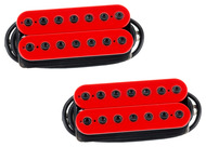 Bare Knuckle Aftermath 7 String Pickup Set Red