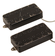 Bare Knuckle Aftermath 7-String Pickup Set Black Battleworn Covers