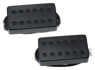 Bare Knuckle Aftermath Pickup Set Black Metal Covers 53mm
