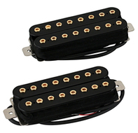 Bare Knuckle Aftermath 8-string Pickup Set Gold Bolts