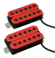 Bare Knuckle Aftermath Pickup Set Red