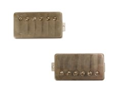 Bare Knuckle Mule Humbucker Pickup Set with Aged Nickel Covers