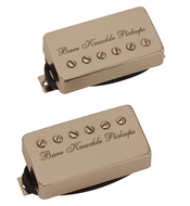 Bare Knuckle Nailbomb Pickup Etched Set Nickel