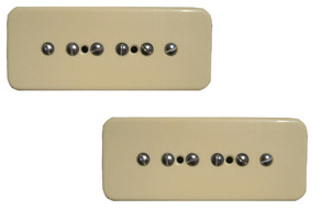 Bare Knuckle Nantucket 90 Soapbar P-90 Pickup Set Cream