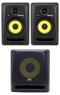 KRK RP5G3 Pair of Monitors plus KRK 10S Subwoofer