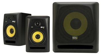 KRK Rokit5G2 Monitors and KRK 10S Subwoofer