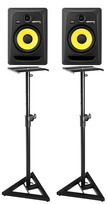 KRK Rokit 8 RP8-G3, Pair of Monitors, with Stands