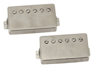 Klein 1959 Epic PAF Humbucker Pickup Set- Raw Nickel Covers