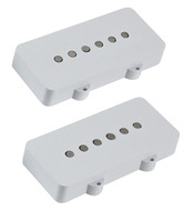 Lindy Fralin Jazzmaster Pickup Set White</P>