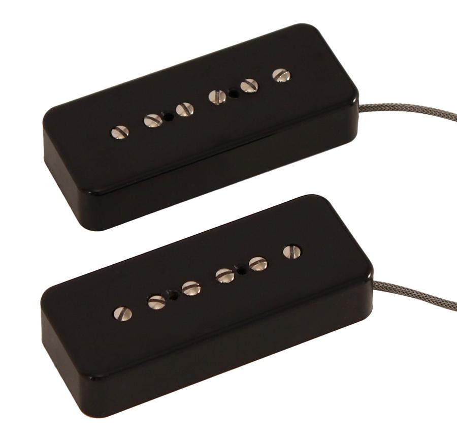 lindy fralin hum cancelling p90 pickup set rainbow guitars. Black Bedroom Furniture Sets. Home Design Ideas