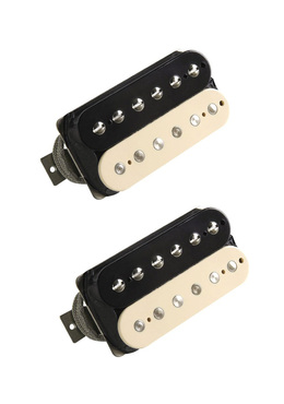 Lindy Fralin Pure PAF Humbucking Pickup Set Zebra