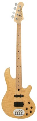 Lakland Skyline 44-02 Deluxe Quilted Maple Top Natural