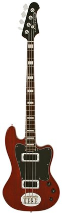 Lakland Skyline Decade 4 Bass<BR>Translucent Burgundy