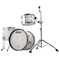 Ludwig Classic Maple Downbeat 3pc Shell Pack In White Marine Pearl