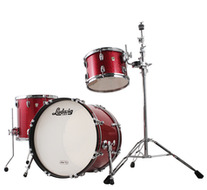 Ludwig Classic Maple Downbeat 3pc Shell Pack In Red Sparkle