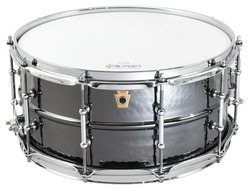 Ludwig 6 1/2 X 14 Hammered Black Beauty