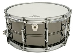 Ludwig 14 x 6.5 LB417T Black Beauty Snare Drum