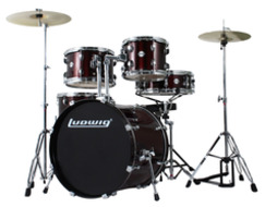 "Ludwig Accent ""Fuse"" Complete Outfit in Wine Red"